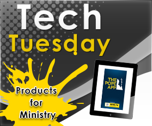 Tech Tuesday- The Pope App