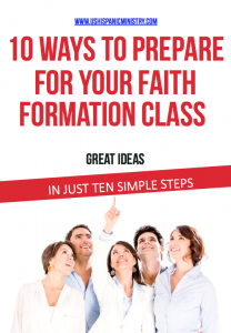 Preparing for your faith formation class.001
