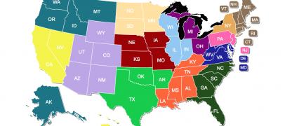 New Regional Map on Hispanic Ministry