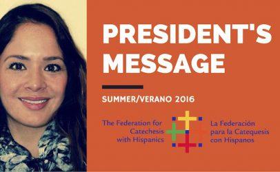 FCH President's Summer Message