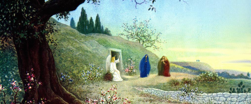 Las Discípulas de Jesús y la Tumba Vacía