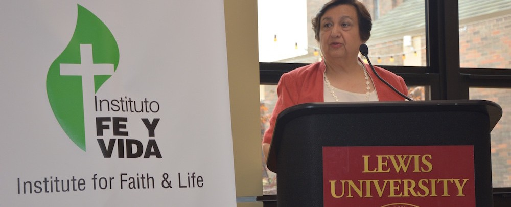 Instituto Fe y Vida celebrated the opening of its new offices at Lewis University